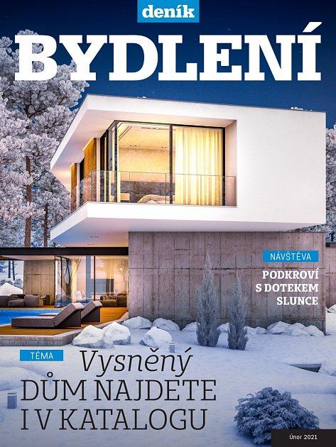 Titulní strana magazínu Bydlení