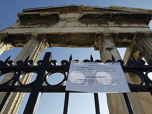 Řecko ochromila další stávka proti škrtům