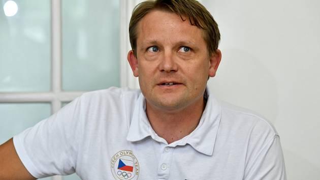 Sportovní ředitel Českého olympijského výboru (ČOV) Martin Doktor