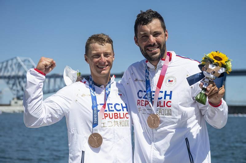 Radek Šlouf a Josef Dostál - Letní olympijské hry Tokio 2020, 5. srpna 2021.