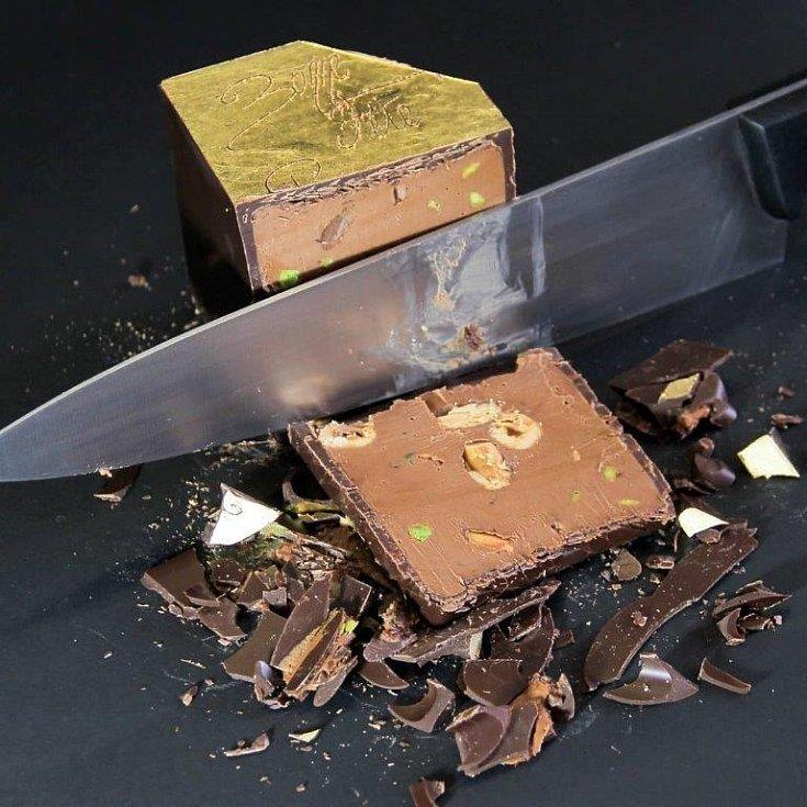 Čokolády z dílny mistra Francois Praluse