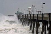 Hurikán Michael zasáhl pobřeží USA.