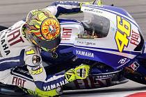 Valentino Rossi bude v Assenu usilovat o své jubilejní 100. vítězství v kariéře.
