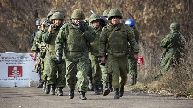 Separatisté podporovaní Ruskem