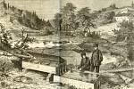 Die Fluss-fischerei in Böhmen 1871