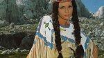 Jako indiánská dívka Nšo-Či.