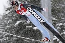 Pavel Churavý si v italském Val di Fiemme doběhl v závodu Světového poháru v severské kombinaci pro výborné třetí místo.
