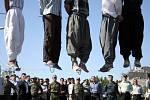 Poprava v Iráku.