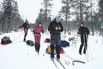 """ZA ZÁDY. Ve Skandinávii je používání tohoto praktického """"přívěsu"""" zcela běžné."""