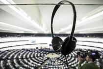 Pohled na zasedání Evropského parlamentu. Ilustrační foto