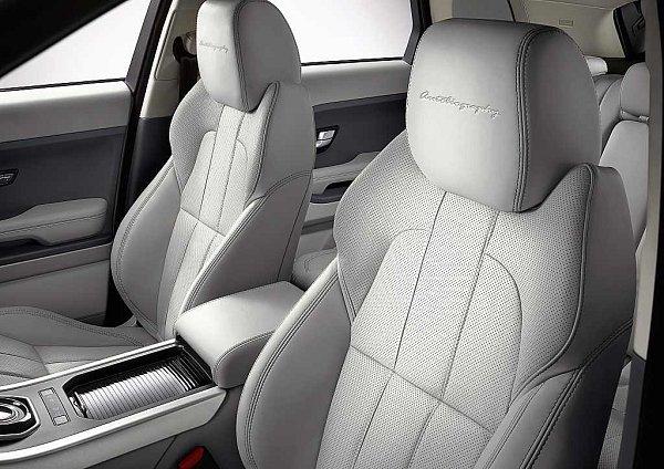 Range Rover Evoque ve verzi Autobiography.