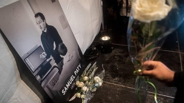 Učitel Samuel Paty se stal v Paříži obětí útoku