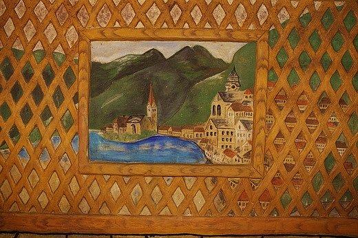 Šatov - sklepní malba