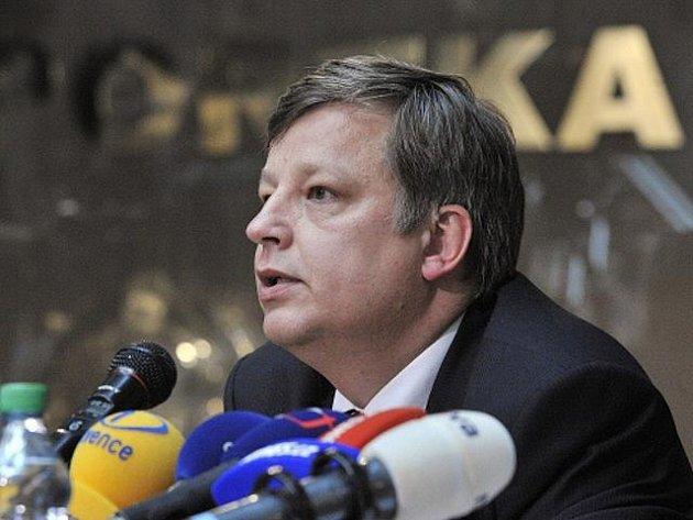 Insolvenční správce Josef Cupka.