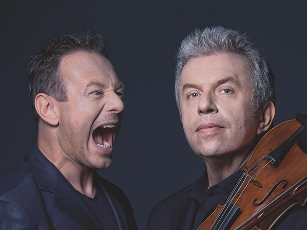 Houslista Jaroslav Svěcený a rocker Michal Dvořák připravili další projekt Vivaldianno MMXII
