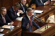 Jednání Poslanecké sněmovny o nedůvěře vládě, 23. 11. 2018.