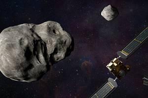 První vesmírná loď NASA určená k vychýlení vesmírné dráhy asteroidu zamíří ke kamennému asteroidu pojmenovanému jako Dimorphos. Loď by do něj měla přímo narazit, a tím změnit jeho trajektorii