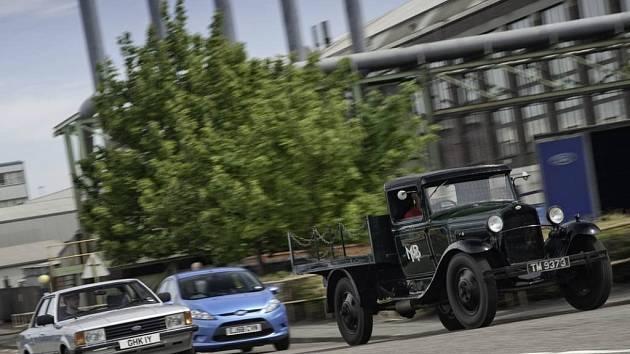 Automobilka Ford slaví 110. výročí.
