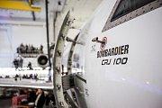 Letecká opravna Avia Prime: Letadlo značky Bombardier