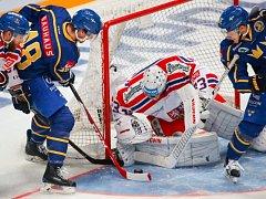 Češi na závěr turnaje porazili Švédy