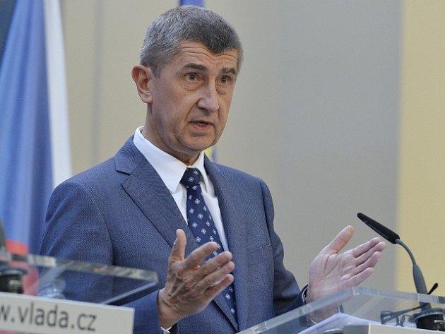 Ministr financí Andrej Babiš.