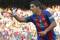 Luis Suárez z Barcelony.