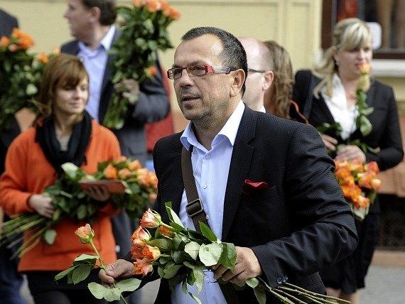Lídr kandidátky ČSSD v Ústeckém kraji Jaroslav Foldyna.