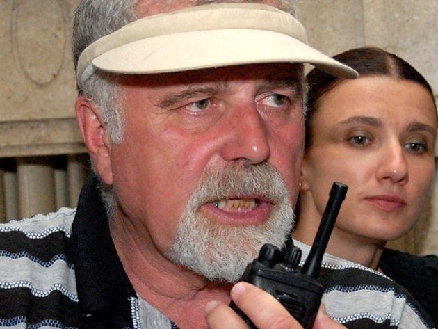 Kameraman Petr Polák.