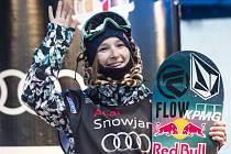 Snowboardistka Šárka Pančochová potěšila české fanoušky ve finále SP ve Šindlerově Mlýně třetím místem ve slopestylu.