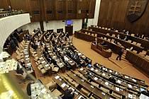 Slovenský parlament. Ilustrační foto