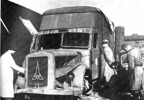 Po osvobození Polska v roce 1945 bylo objeveno i několik nákladních aut upravených jako pojízdné plynové komory. V podobném náklaďáku zahynuly i děti z Lidic a Ležáků