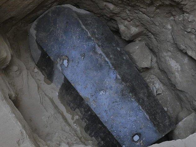 Nalezený sarkofág