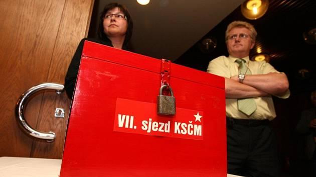 Volby na VII. sjezdu KSČM