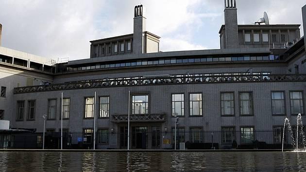 Pohled na Mezinárodní tribunál pro bývalou Jugoslávii v Haagu.