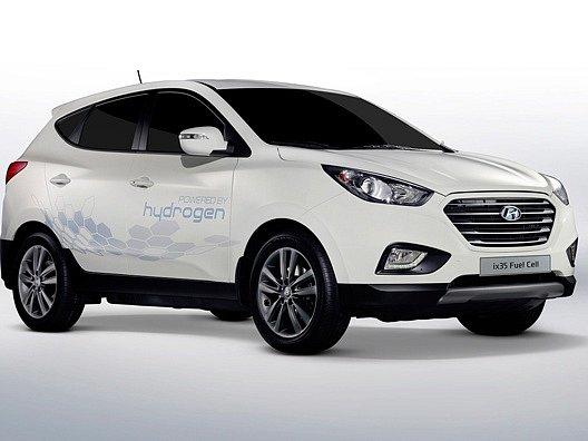 Hyundai Tucson s vodíkovými palivovými články