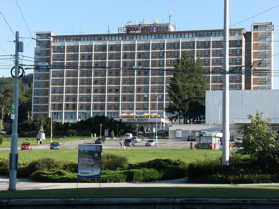 Interhotel Moskva ve Zlíně