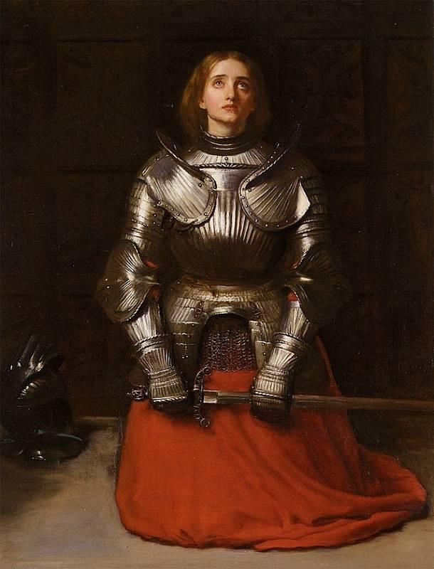 Dauphin věnoval Janě z Arku rytířskou zbroj a svěřil jí armádu pod vedením vojevůdce La Hira