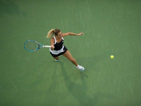 Klára Koukalová na US Open