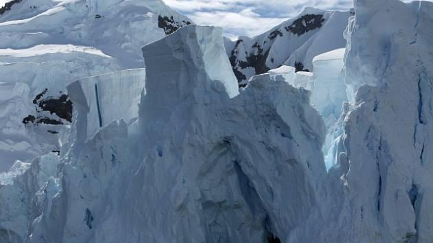 Ledovce v Antarktidě