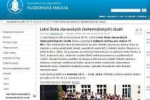 Letní škola slovanských studií v Brně