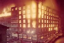 Požár Veletržního paláce v Praze