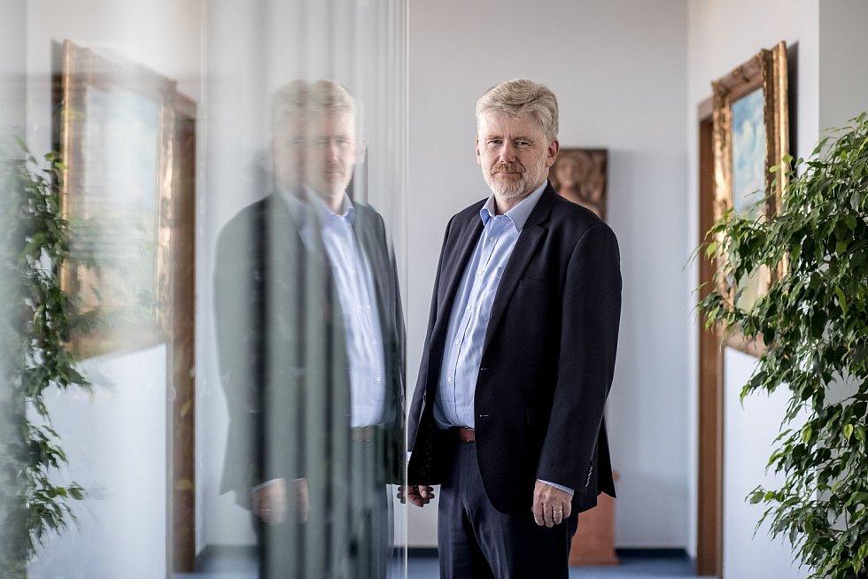 Rektor České zemědělské univerzity Petr Sklenička poskytl 18. září v Praze rozhovor Deníku.
