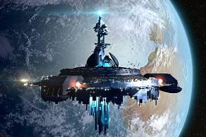 Mimozemská loď na oběžné dráze kolem Země