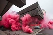 """""""Požár"""" budovy Transgasu"""