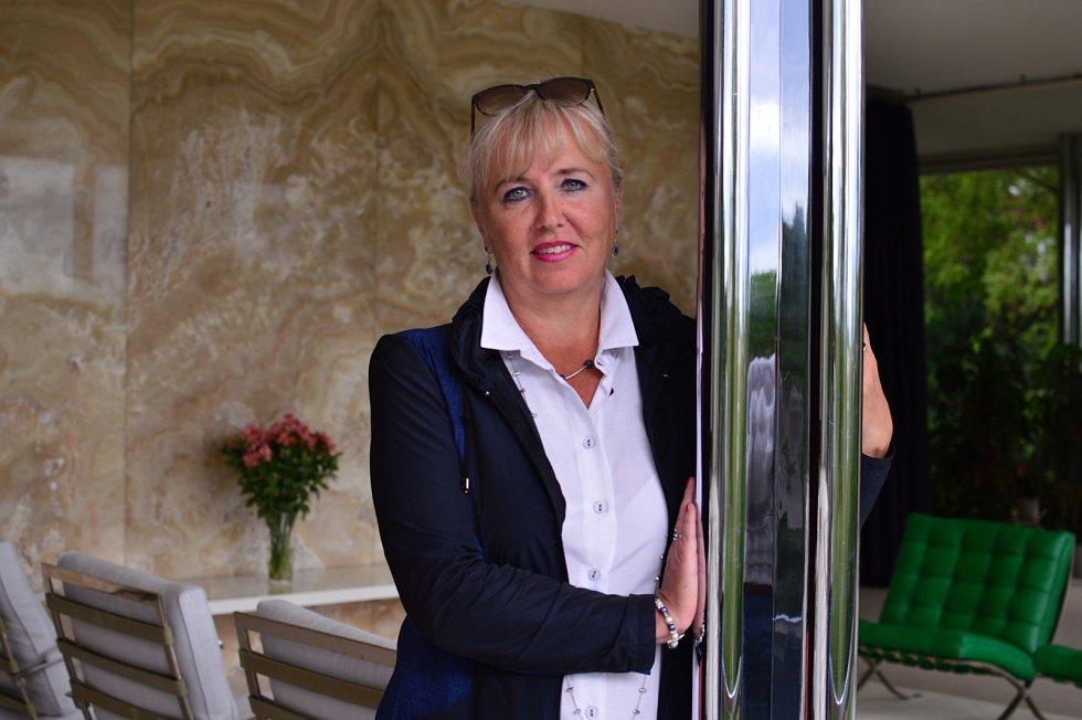 Iveta Černá, ředitelka oddělení Muzea města Brna, které se stará o vilu Tugendhat