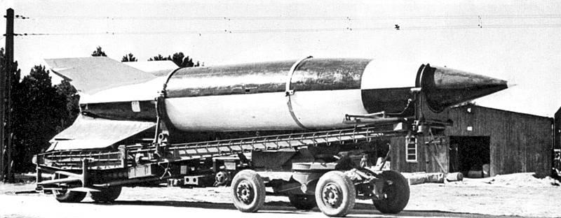 Nadzvukové rakety V2 představovaly pro nacistické Německo eso v rukávu.