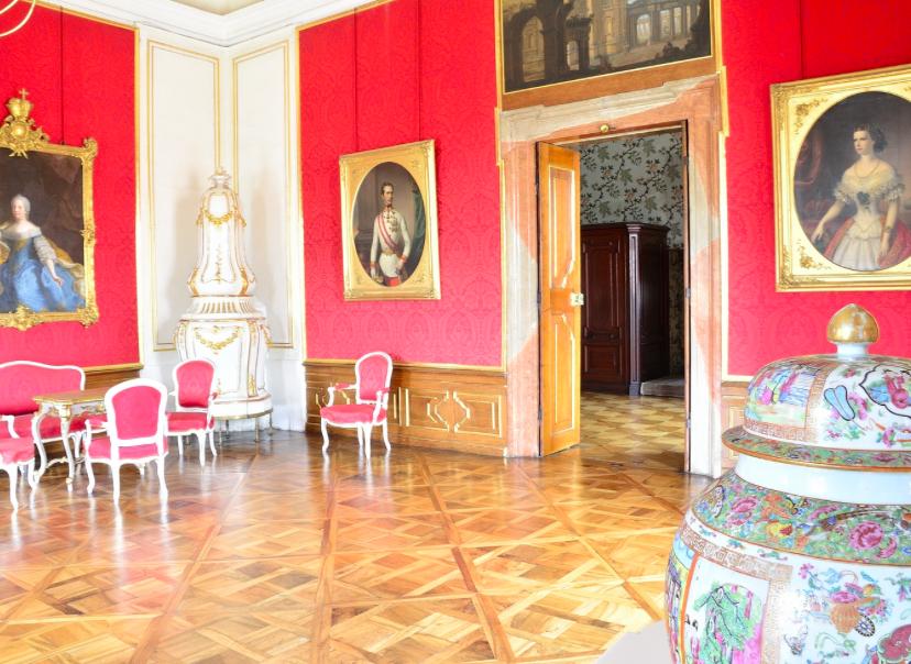 Interiér zámku Valtice