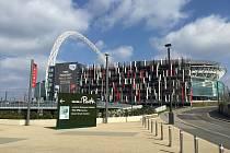 Stadion Wembley v Londýně, domov anglické fotbalové reprezentace