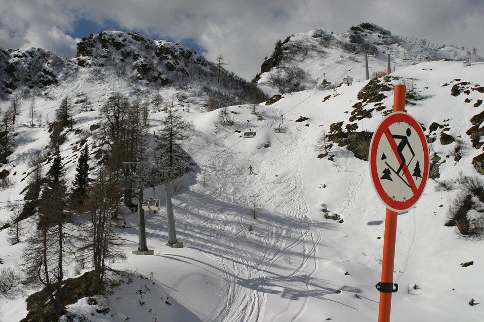 Italské alpské středisko Folgarida