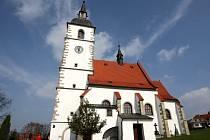 Kostel ve Staré Vsi.
